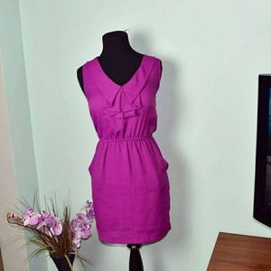 Urban Outfitters Silence and Noise Magenta Dress